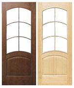 Двери Межкомнатная дверь Капри под остекление