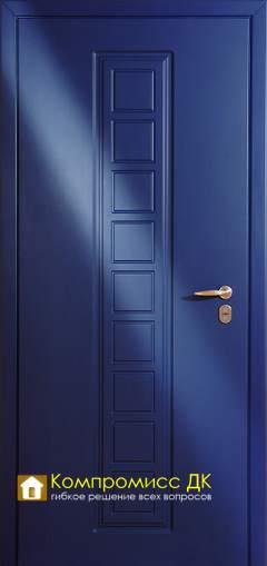 Двери Металлические двери МДФ (в ПВХ пленке)