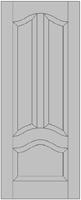 Двери Двери из массива (сосна) тип 3.1