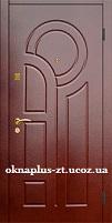 Двери Двери входные с МДФ покрас