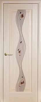Двери Двері МДФ Новий Стиль Волна